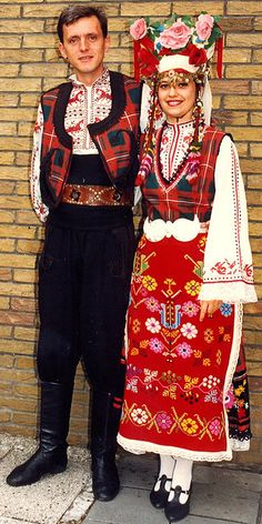 Eastern European traditional attire