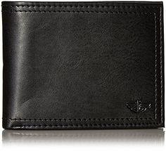 Dockers Extra Capacity Men's Bifold Credit Card Wallet