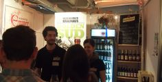 Riedenburger Brewery booth at Braukunst live in Munich. They brew fantastic organic beer and in my eyes they had the best beer at the exhibition, a really outstanding stout!
