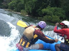 Every rafter experiences pure, heart-stopping thrill #Goa #Monsoon