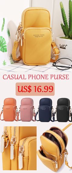 8503656e2da2 pierre loues Women Solid Phone Bag Casual Crossbody Bag is designer