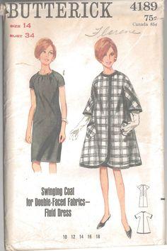 Vogue 8045 Vintage 1980's Misses Jacket Top Skirt & Pants - Sz 16 Sewing Pattern #Butterick