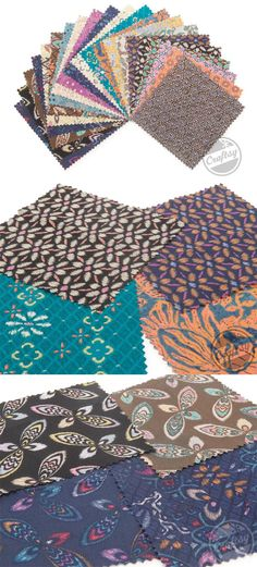 The Victoria and Albert Museum is the world's largest museum of decorative arts and design. The Bromley collection is inspired by some of the pieces found in the museum featuring abstract geometric patterns in an array of colors. Click: http://www.craftsy.com/ext/20121026_FabricPin3