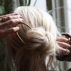 Lunula Hair Pin - Gabriela Artigas Online Store