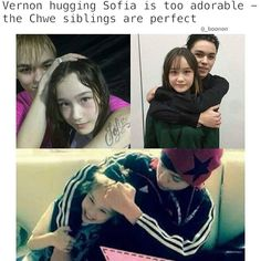 Vernon and Sofia, the Choi siblings