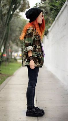 Women fashion Videos Trends 2019 - Women fashion Modest Style - Women fashion Videos Formal - Women fashion For Work Videos Red - Grunge Outfits, Hipster Outfits, Grunge Fashion, Cool Outfits, Casual Outfits, Fashion Edgy, Style Grunge, Grunge Look, 90s Grunge