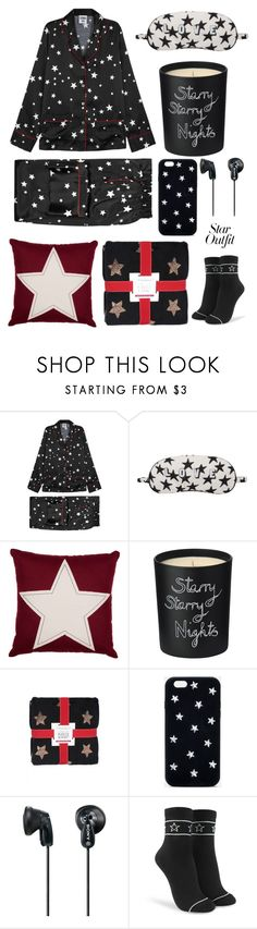"""star outfit pajama day"" by im-karla-with-a-k ❤ liked on Polyvore featuring Bella Freud, STELLA McCARTNEY, Sony, Forever 21 and StarOutfits"