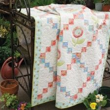 Perky Posies in McCall's Quilting - a possibility for trying some fancy cutting and substitute for the applique blocks.