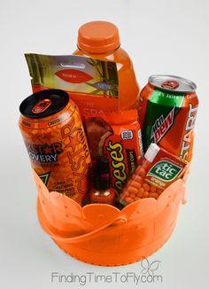 Orange Themed Bucket-1