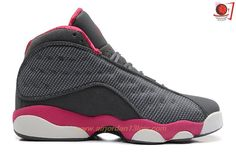 Discover the Girls Air Jordan 13 Retro Cool Grey/Fusion Pink-White Best collection at Footlocker. Shop Girls Air Jordan 13 Retro Cool Grey/Fusion Pink-White Best black, grey, blue and more. Get the tones, get the features, get the look! Air Jordans, Cheap Jordans, New Jordans Shoes, Jordans Girls, Jordan 13, Puma Shoes Online, Jordan Shoes Online, Michael Jordan Shoes, Gray