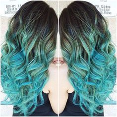 I love the color Aqua, it's so pretty.