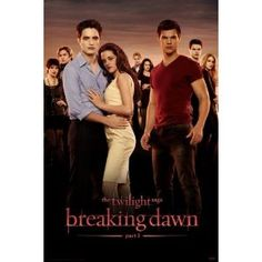 (24x36) Twilight 4 Breaking Dawn Movie Group Poster Print