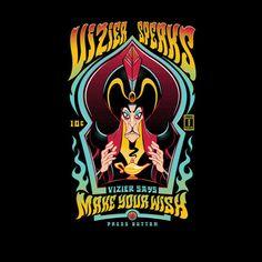#Disney: Aladdin's #Jafar / Big: #Zoltar mashup t-shirt.