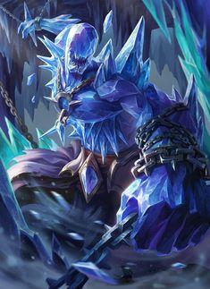 Guardião do cume da montanha das runas