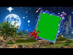 Bright Stars Moon Sky Cloud Wedding frame Background Video Downloads - YouTube Green Screen Video Backgrounds, Green Background Video, Wedding Background Images, Flower Background Wallpaper, Frame Background, Photo Backgrounds, Green Screen Backdrop, Green Screen Photography, Photoshop Shapes