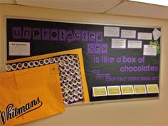 Unprotected Sex Bulletin Board. University of Montevallo Housing and Residence Life.