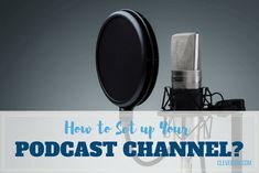 A thorough article about how to setup your own podcast channel in a step by step way while giving you the pros and cons of podcasts. Podcast Setup, Studio Setup, Channel