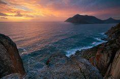"""Atlantic Sunset"" Cape Peninsula. Photographer: Hougaard Malan."