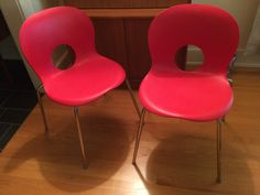 Valentines Day Italian Chairs // The by ModernaireMCMStudios