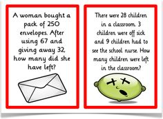 Subtraction-Problem Solving - Treetop Displays - A set of 18 A5 problem solving posters. With a title/ explanatory poster, each visual poster has a word problem question that requires children to use their understanding of subtraction. Questions are aimed at all abilities. Visit our website for more information and for other printable resources by clicking on the provided links. Designed by teachers for Early Years (EYFS), Key Stage 1 (KS1) and Key Stage 2 (KS2).