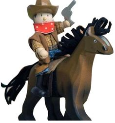 Le Toy Van Brown Horse With Saddle - Free Shipping