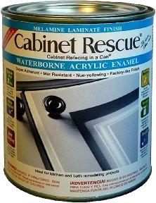 Cabinet Paint - Cabinet Rescue® Melamine Laminate Paint