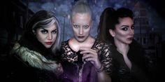 All the three ladies gathered in one dark as their hearts picture. #ouat #regina #darkswan #emmaswan #darkone #dagger #cruelladevil #storybrooke  Make Up Artist: Vicky Chatzispyrou   Facebook Sites:  https://www.facebook.com/Eleni-Nikolaou-Creations-393654224140536/  https://www.facebook.com/Vicky-Chatzispyrou-Make-Up-Artist-1645305555708750/