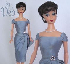 Cocktail Chic - Vintage Barbie Doll Dress Reproduction Repro Barbie Clothes