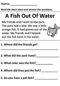 Reading comprehension passage with questions - melina 1st Grade Reading Worksheets, First Grade Reading Comprehension, Phonics Reading, Reading Comprehension Worksheets, Reading Passages, Kindergarten Reading, Teaching Reading, Reading Response, Grade 1 Worksheets