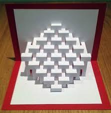 Image result for geometric kirigami
