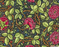"""""""More than anyone, textile designer William Morris influenced the swirling graphic style that would eventually become the Arts & Crafts move. Textiles, Textile Patterns, Textile Design, Fabric Design, Floral Patterns, William Morris Wallpaper, William Morris Art, Inchies, Motifs Art Nouveau"""