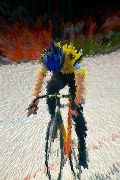 Speed - bike art - way cool!
