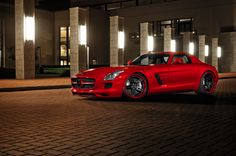 ADV.1 Wheels Boutique Mercedes SLS by William Stern on 500px