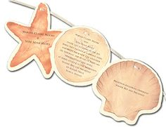 Under the Sea - Wedding Invitations, Wedding Invitations, Party Invitations and other Fabulous Stationery