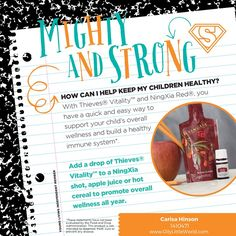 Mighty and Strong Kids with Essential Oils