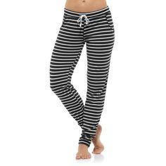 Reebok Women's Yoga Striped Pant | Reebok Canada