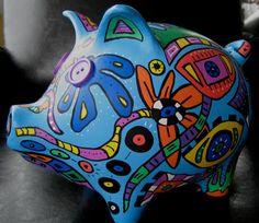 Hands on Greenville Piggy Bank Auction  *artist: Susan Sorrell