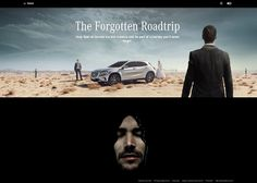 "Mercedes-Benz GLA ""The Forgotten Roadtrip"" #webdesign #inspiration #UI"