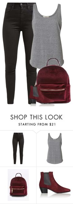 """Untitled #9821"" by fanny483 ❤ liked on Polyvore featuring Levi's and Yves Saint Laurent"