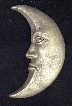 Crescent Moon Wall Decor Sculpture