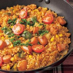 Cooking Recipes, Healthy Recipes, Cafe Food, Japanese Food, Paella, Fried Rice, Food And Drink, Meals, Dishes