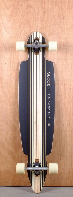 "Globe Prebuilt 41"" Pinner Drop Through Longboard Complete Bottom"
