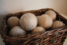 A personal favorite from my Etsy shop https://www.etsy.com/listing/473032561/wool-dryer-balls-infused-with-essential