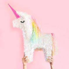 Unicorn Pinata by Amy Moss on Oh Happy Day!