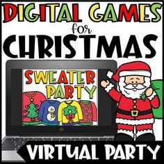 Christmas Trivia, Halloween Games For Kids, Christmas Activities For Kids, Kids Christmas, Winter Activities, Google Christmas, Merry Christmas, Kindergarten Christmas, Winter Games