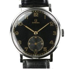 Vintage Omega Dress Watch from 1stdibs!
