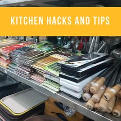 Tips and tricks for cooking, shopping and cleaning your kitchen. Making your home life easier. Kitchen Hacks, Food Hacks, My Recipes, All In One, Cleaning, Make It Yourself, Cooking, Easy, Tips