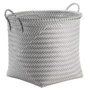 Decorative Basket RE Polypropylene Multicolor Round