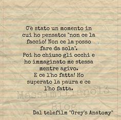 grey's anatomy frasi - Pesquisa Google