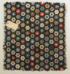 Patchwork. Silk. 1867. National Trust.